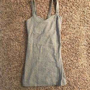 Brandy Melville grey mini dress